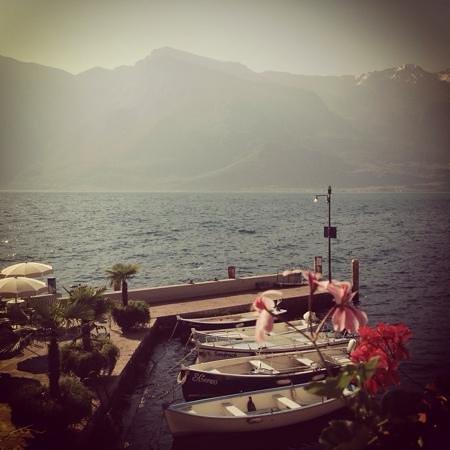 Hotel Monte Baldo : frühstücksaussicht