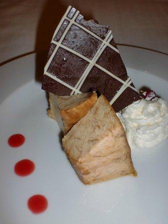 Hotel Manantial: Pudding casero con vainilla de papantla