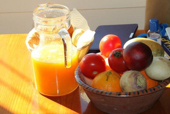 Luz Beach Apartments: Fresh Orange Juice
