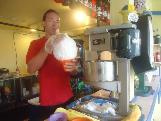 Scandinavian Shave Ice : Making my large shave ice part 1