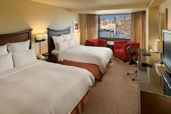 Hilton Parc 55 San Francisco : Double Bed Guestroom