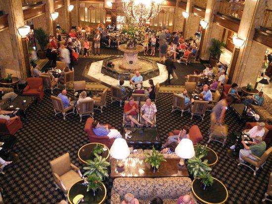 The Peabody Memphis: The lobby