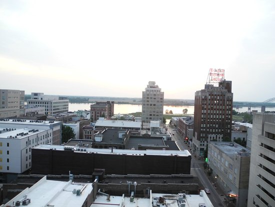 The Peabody Memphis: View from the rooftop