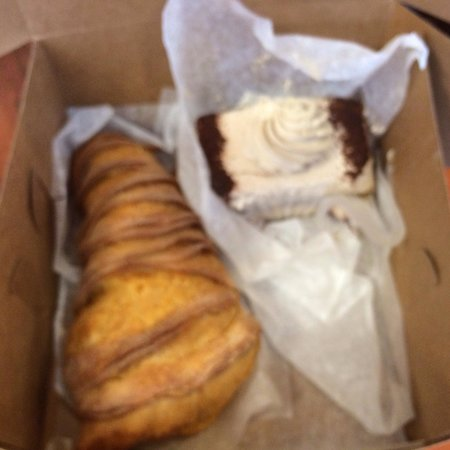 Mike's Pastry: Lobster tail (MUST TRY!!). And Tiramisu