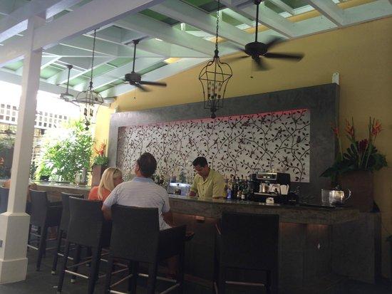 Patio del Nispero: Courtyard bar