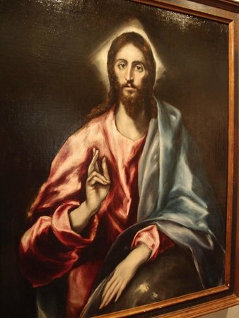 Museo del Greco: Christ Blessing, c. 1600