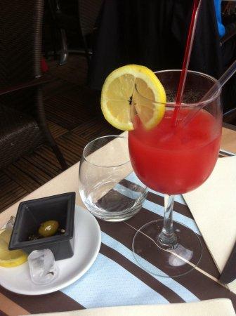 Restaurant Les Deux Ponts: Cocktail de fruits