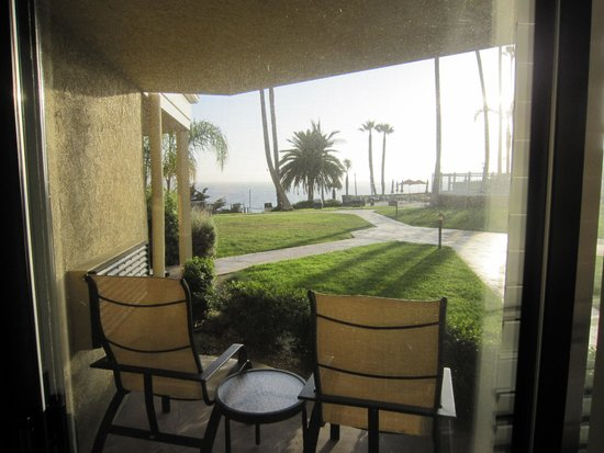 SeaCrest OceanFront Hotel: view from inside my room