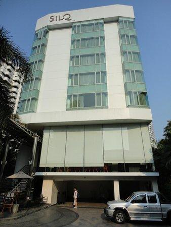 SilQ Bangkok : Facciata hotel
