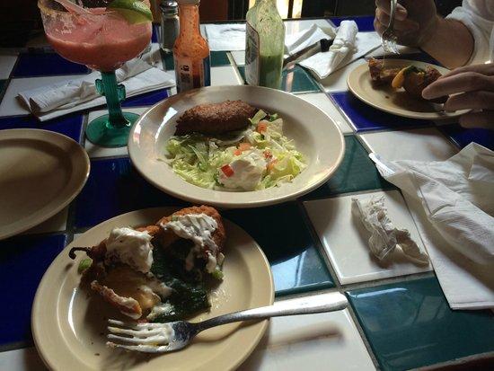 Lupi's: Chili rellenos appetizer