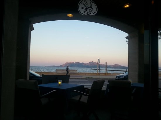 Aparthotel Galeon Suites: View from restaurant