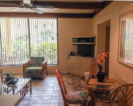 The Merriweather Resort : Living room