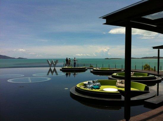 W Retreat Koh Samui : Lobby and Gulf of Thailand