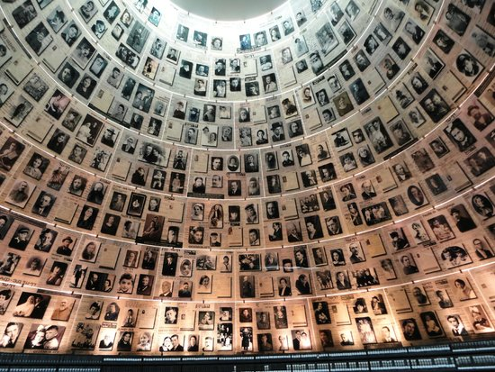 Memorial del Holocausto Yad Vashem: hall of names