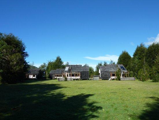 Yelcho en la Patagonia: Cabañas