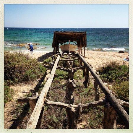 Gecko Hotel & Beach Club: Migjorn Beach