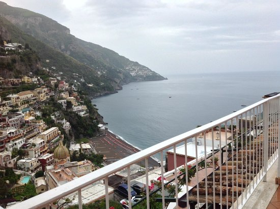 Hotel Poseidon: View from room