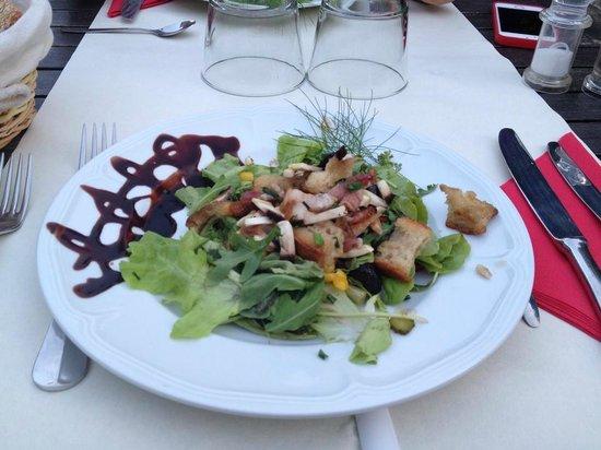 Hotel La Bastide du Bois Breant : salade mixte