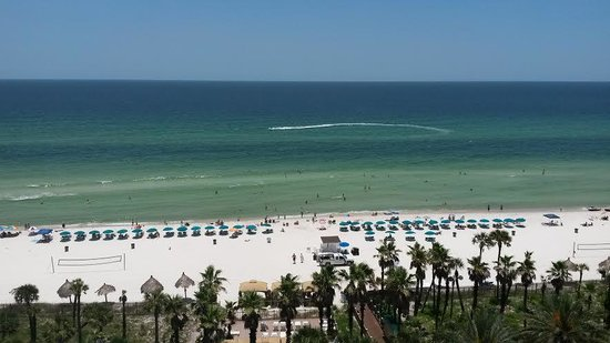 Holiday Inn Resort Panama City Beach: View from our balcony....