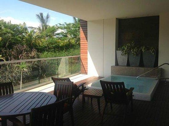Grand Luxxe Nuevo Vallarta : Patio/ mini pool