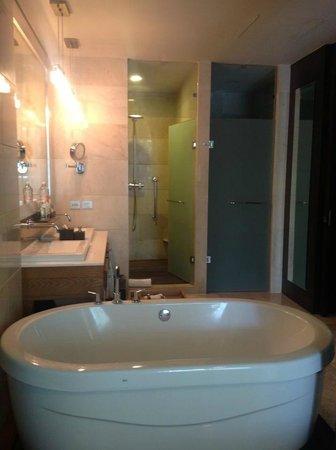 Grand Luxxe Nuevo Vallarta : Master bathroom