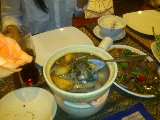 Bahn Thai: seafood hotpot