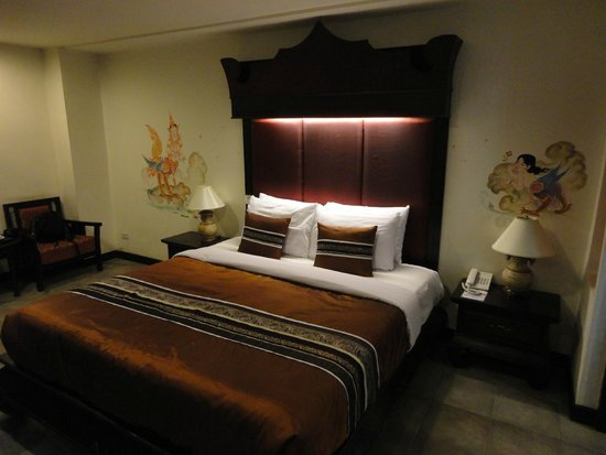 Raming Lodge Hotel & Spa : Letto