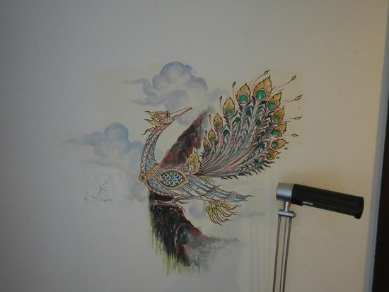 Raming Lodge Hotel & Spa: Disegni pareti