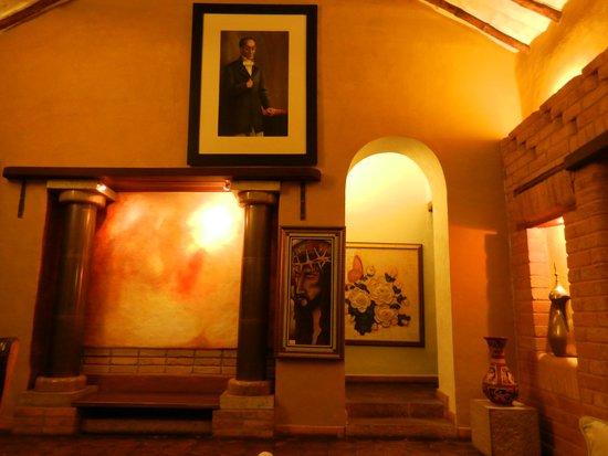 Hotel Boutique los Angeles: Sala