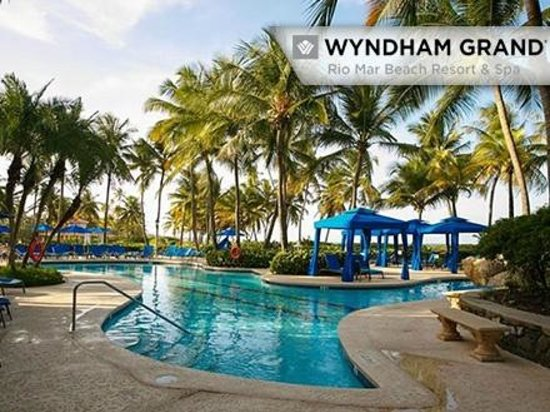 Wyndham Grand Rio Mar Puerto Rico Golf Beach Resort Family Pool Cabana
