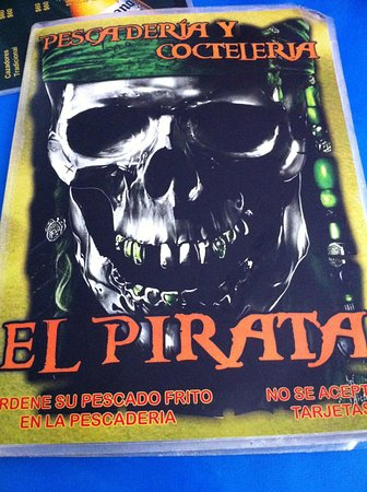 El Pirata: Menù paurosooooo