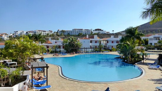 Fuerteventura Princess: View of one of the pools from apartment