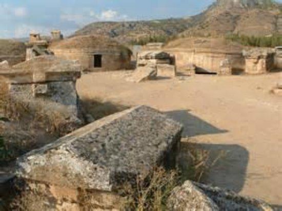 Hierapolis & Pamukkale : Hiérapolis