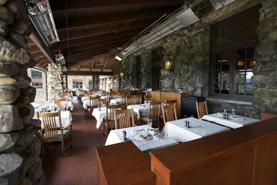 The Omni Grove Park Inn: Sunset Terrace (showing Half of terrace)