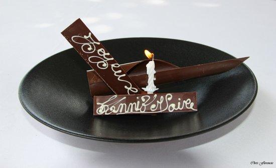 Restaurant Le Saint-James Relais & Chateaux : Anniversaire de Mariage