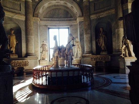 Vatikanische Museen (Musei Vaticani): un sala