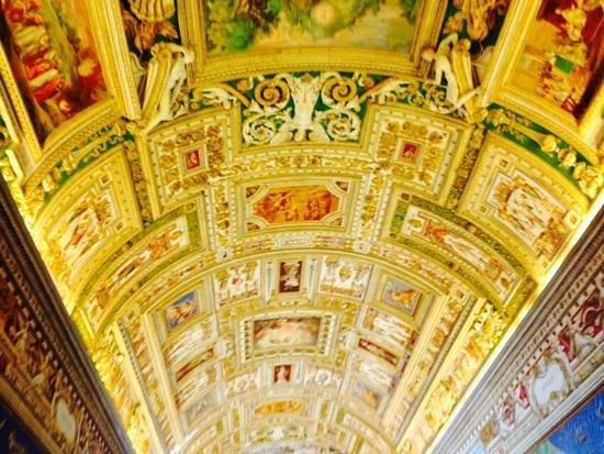 Vatikanische Museen (Musei Vaticani): uno splendido soffitto