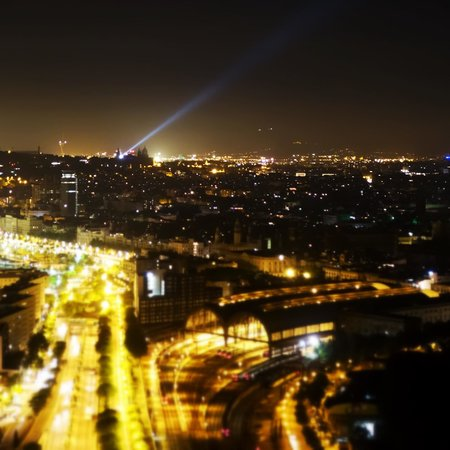 Hotel Arts Barcelona: City, taken from the penthouse suite