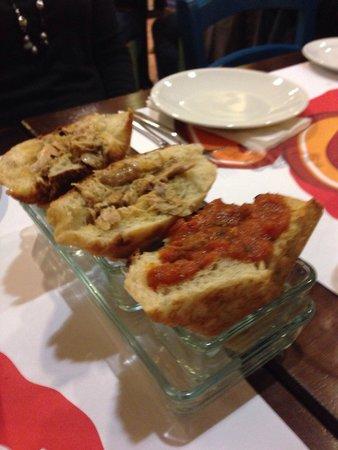About Pizza Tonda : Trapizzini