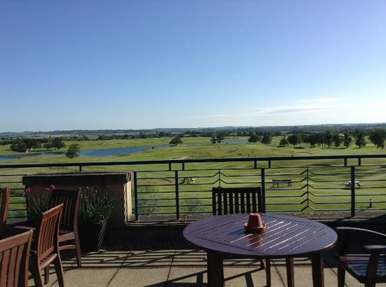 The Oxfordshire Golf Club & Hotel: view from the terrace