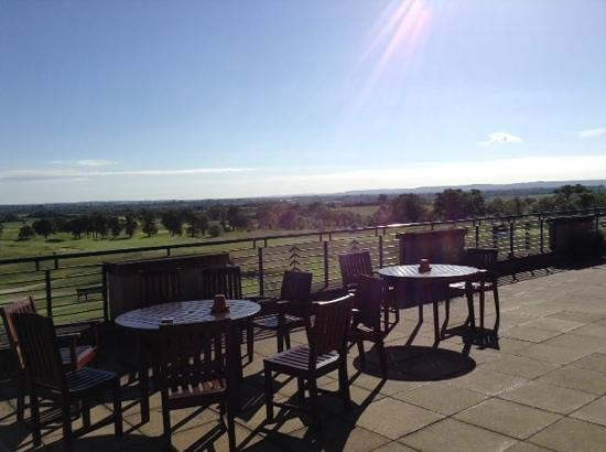 The Oxfordshire Golf Club & Hotel: stunning views