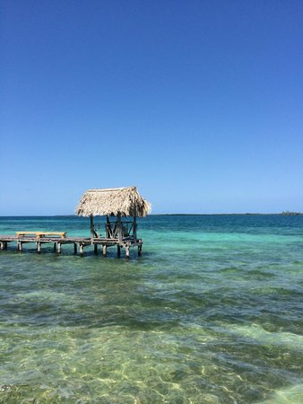 Thatch Caye Resort : Thatched relaxation retreat