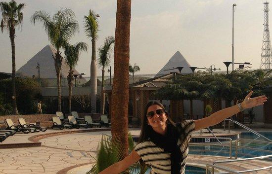 Mercure Cairo Le Sphinx : vista do hotel