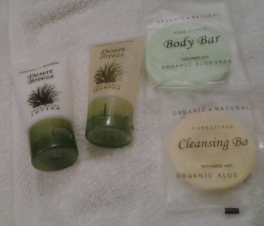 Hollywood Casino St. Louis Hotel: These are the new organic toiletries