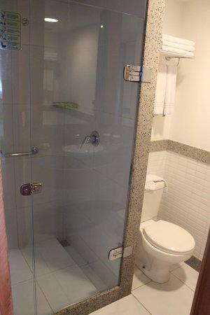 Verdegreen Hotel: Box do chuveiro