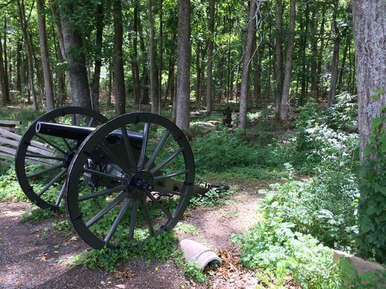 Stones River National Battlefield: Entry to the Slaughter Pen