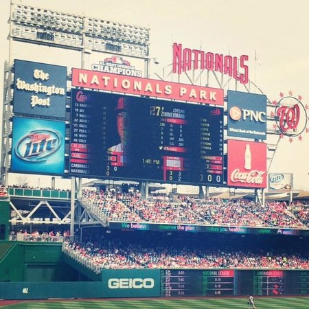 Nationals Park: The beautiful park