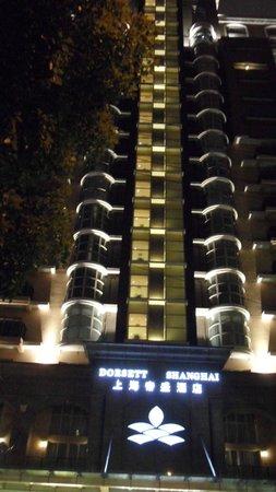 Dorsett Shanghai: Dorsett Hotel..front entrance