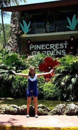 Pinecrest Gardens: Front entrance
