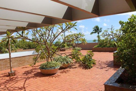 Verdegreen Hotel: Terraço